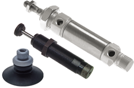 cylinders - shock absorbers - vacuum